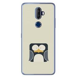 Funda Gel Tpu para Alcatel 3V Diseño Pingüino Dibujos