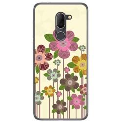 Funda Gel Tpu para Alcatel 3x Diseño Primavera En Flor Dibujos