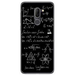 Funda Gel Tpu para Alcatel 3x Diseño Formulas Dibujos