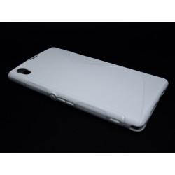 Funda Gel Tpu Sony Xperia Z1 L39H S Line Color Blanca