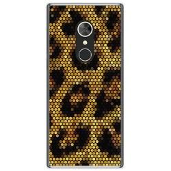 Funda Gel Tpu para Alcatel 5 Diseño Leopardo Dibujos