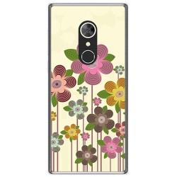 Funda Gel Tpu para Alcatel 5 Diseño Primavera En Flor Dibujos