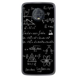 Funda Gel Tpu para Motorola Moto G6 Diseño Formulas Dibujos