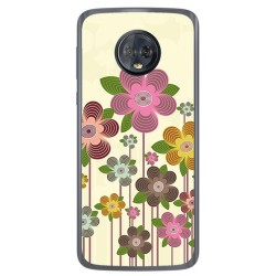 Funda Gel Tpu para Motorola Moto G6 Diseño Primavera En Flor Dibujos