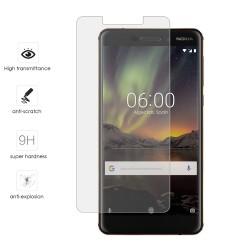 Protector Cristal Templado para Nokia 6.1 (2018) Vidrio