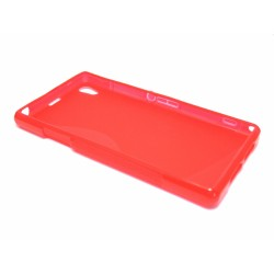 Funda Gel Tpu Sony Xperia Z1 L39H S Line Color Roja