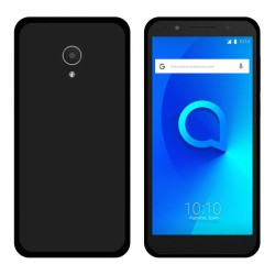 Funda Gel Tpu para Alcatel 1X Color Negra