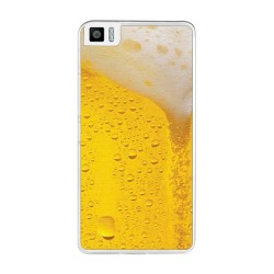 Funda Gel Tpu para Bq Aquaris M5.5 / M 2017 Diseño Cerveza Dibujos