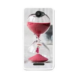 Funda Gel Tpu para Bq Aquaris U / U Lite Diseño Reloj Dibujos