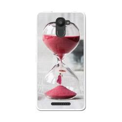 Funda Gel Tpu para Bq Aquaris U Plus Diseño Reloj Dibujos