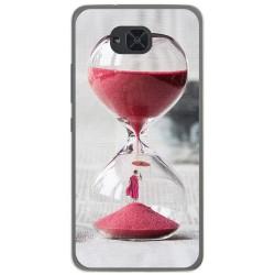 Funda Gel Tpu para Bq Aquaris U2 / U2 Lite Diseño Reloj Dibujos