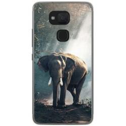Funda Gel Tpu para Bq Aquaris V Plus / Vs Plus Diseño Elefante Dibujos