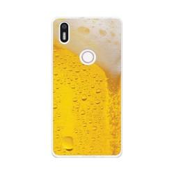 Funda Gel Tpu para Bq Aquaris X5 Plus Diseño Cerveza Dibujos