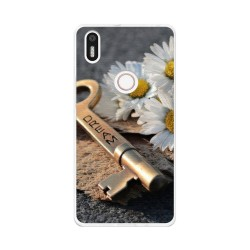 Funda Gel Tpu para Bq Aquaris X5 Plus Diseño Dream Dibujos