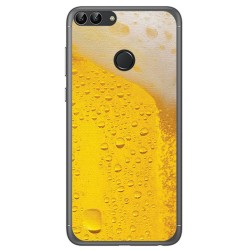 Funda Gel Tpu para Huawei P Smart Diseño Cerveza Dibujos