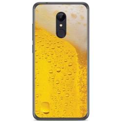 Funda Gel Tpu para Xiaomi Redmi 5 Plus Diseño Cerveza Dibujos