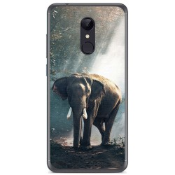 Funda Gel Tpu para Xiaomi Redmi 5 Plus Diseño Elefante Dibujos