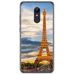 Funda Gel Tpu para Xiaomi Redmi 5 Plus Diseño Paris Dibujos