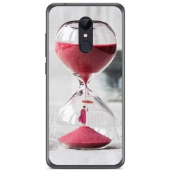 Funda Gel Tpu para Xiaomi Redmi 5 Plus Diseño Reloj Dibujos