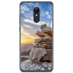 Funda Gel Tpu para Xiaomi Redmi 5 Plus Diseño Sunset Dibujos