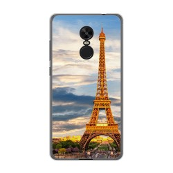 Funda Gel Tpu para Xiaomi Redmi Note 4X / 4 Version Global Diseño Paris Dibujos