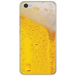 Funda Gel Tpu para Xiaomi Redmi Note 5A Diseño Cerveza Dibujos