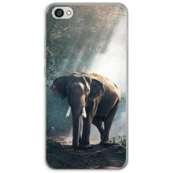 Funda Gel Tpu para Xiaomi Redmi Note 5A Diseño Elefante Dibujos
