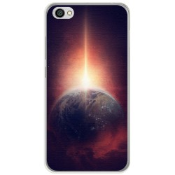 Funda Gel Tpu para Xiaomi Redmi Note 5A Diseño Tierra Dibujos