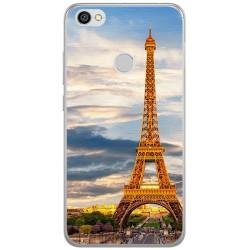 Funda Gel Tpu para Xiaomi Redmi Note 5A Pro / 5A Prime Paris Dibujos
