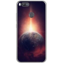 Funda Gel Tpu para Xiaomi Mi 5X / Mi A1 Diseño Tierra Dibujos
