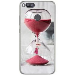 Funda Gel Tpu para Xiaomi Mi 5X / Mi A1 Diseño Reloj Dibujos