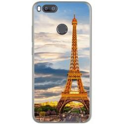 Funda Gel Tpu para Xiaomi Mi 5X / Mi A1 Diseño Paris Dibujos
