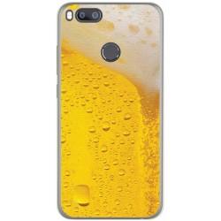 Funda Gel Tpu para Xiaomi Mi 5X / Mi A1 Diseño Cerveza Dibujos