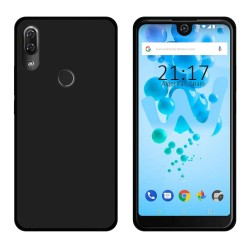 Funda Gel Tpu para Wiko View2 Pro Color Negra