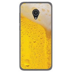 Funda Gel Tpu para Alcatel 1X Diseño Cerveza Dibujos