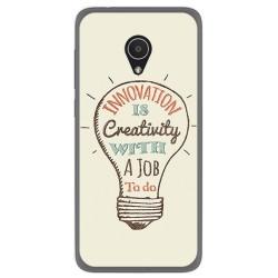 Funda Gel Tpu para Alcatel 1X Diseño Creativity Dibujos