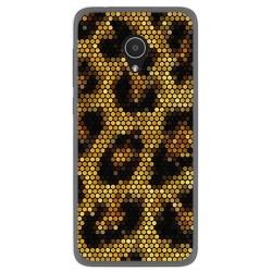 Funda Gel Tpu para Alcatel 1X Diseño Leopardo Dibujos
