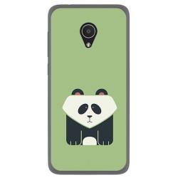 Funda Gel Tpu para Alcatel 1X Diseño Panda Dibujos