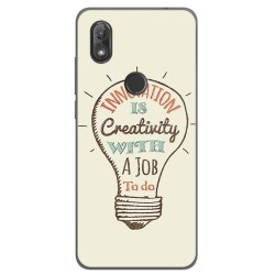 Funda Gel Tpu para Wiko View2 Diseño Creativity Dibujos
