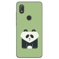 Funda Gel Tpu para Wiko View2 Diseño Panda Dibujos