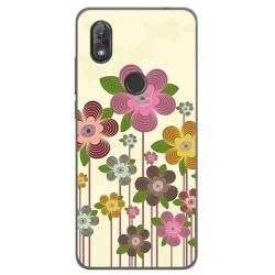 Funda Gel Tpu para Wiko View2 Diseño Primavera En Flor Dibujos