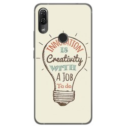Funda Gel Tpu para Wiko View2 Pro Diseño Creativity Dibujos