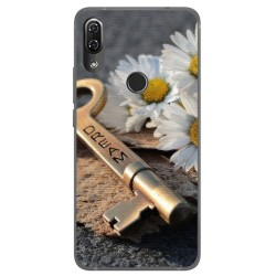 Funda Gel Tpu para Wiko View2 Pro Diseño Dream Dibujos