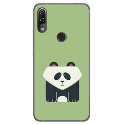 Funda Gel Tpu para Wiko View2 Pro Diseño Panda Dibujos
