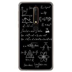 Funda Gel Tpu para Nokia 6.1 (2018) Diseño Formulas Dibujos