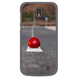Funda Gel Tpu para Nokia 1 Diseño Apple Dibujos