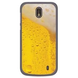 Funda Gel Tpu para Nokia 1 Diseño Cerveza Dibujos