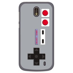 Funda Gel Tpu para Nokia 1 Diseño Consola Dibujos