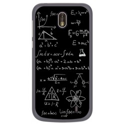 Funda Gel Tpu para Nokia 1 Diseño Formulas Dibujos