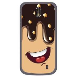 Funda Gel Tpu para Nokia 1 Diseño Helado Chocolate Dibujos